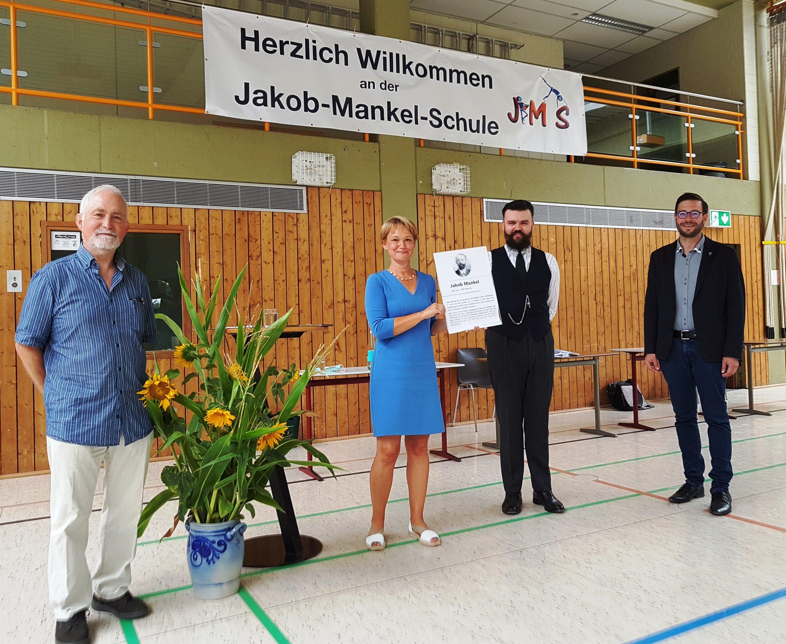 Jakob-Mankel-Gedenktafel