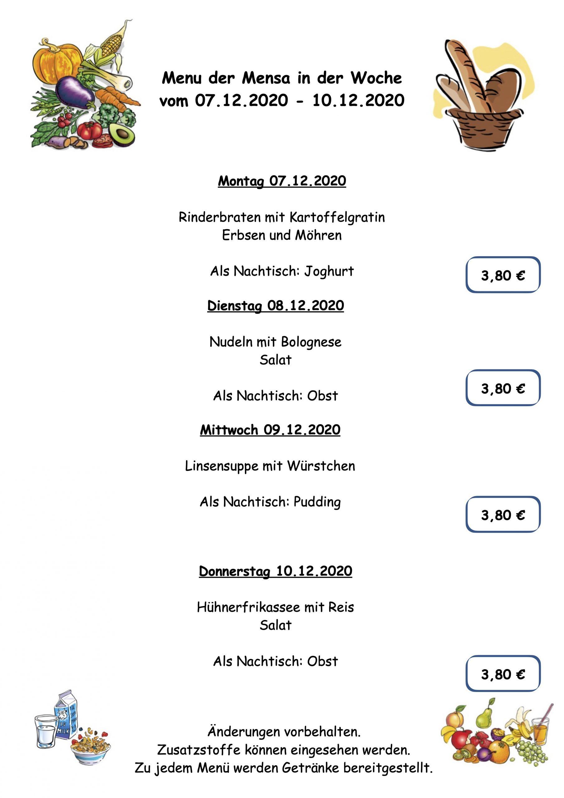 Essensplan 0712-1012